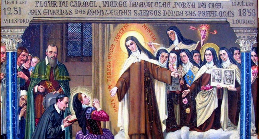 Apparition de Ste Thérèse d'Avila