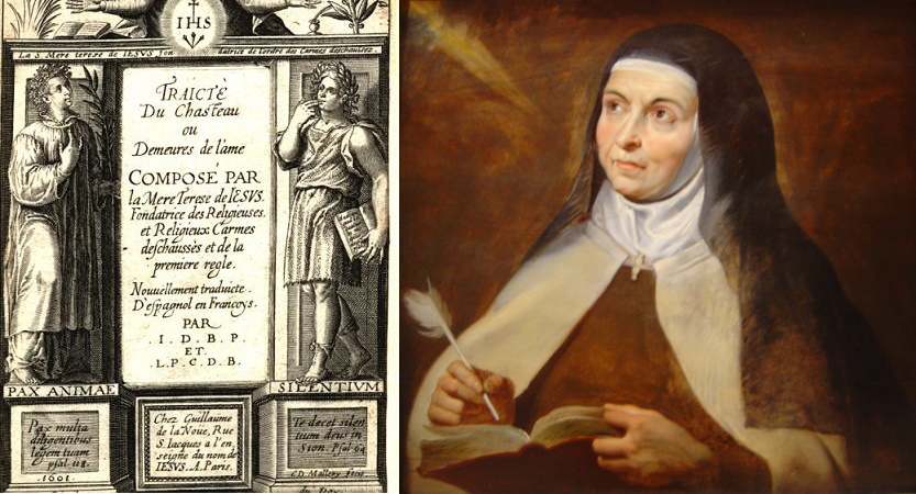 Madame Acarie reads St. Teresa of Avila